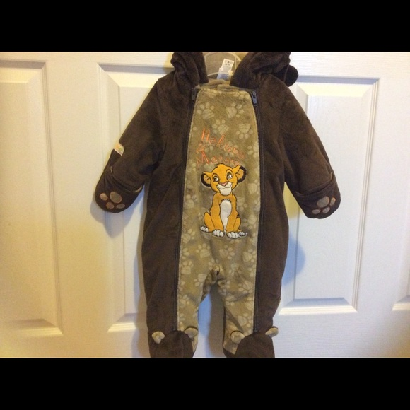 DISNEY Baby Lion King Bunting Snowsuit
